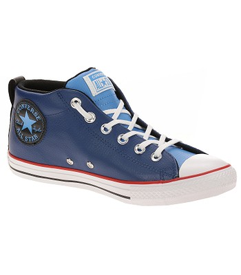 boty Converse Chuck Taylor All Star Street Mid - 661886 Court Blue Blue  Hero White 2fcd8b370b