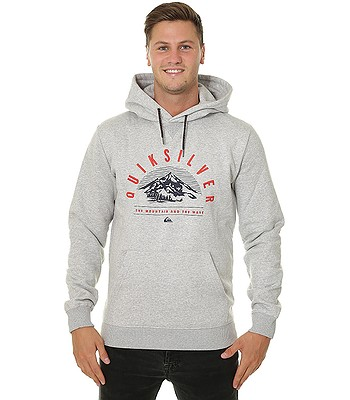 acc7543159 sweatshirt Quiksilver Big Logo Snow - KPGH Gray Heather - men´s -  blackcomb-shop.eu