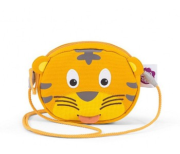 taška Affenzahn Timmy Tiger - Yellow/Brown