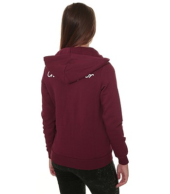 sweatshirt Converse Chuck Taylor Zip 10007104 - A03 Dark Burgundy -  women´s. IN STOCK ‐ by 26. 3. at your home -22% 509bfdff29d