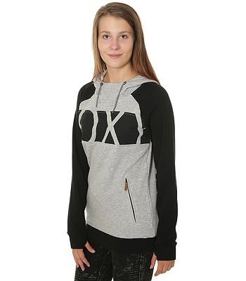 1f014119ee0 mikina Roxy Liberty - SJEH Warm Heather Gray - snowboard-online.sk