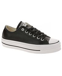 topánky Converse Chuck Taylor All Star Lift Clean OX - 561681 Black Black  056693e3f8d