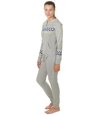 9e071d98348 overal Roxy Warm Up One Piece - SJEH Warm Heather Gray - snowboard-online.sk