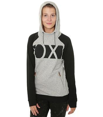 180327fdb08 mikina Roxy Liberty - SJEH Warm Heather Gray - snowboard-online.cz