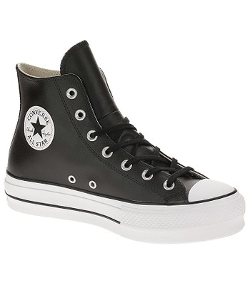 boty Converse Chuck Taylor All Star Lift Hi - 561675 Black Black White b76cb3da40