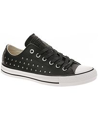 topánky Converse Chuck Taylor All Star OX - 561685 Black Black Silver f558276b45