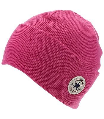 čepice Converse Tall Cuff Watchcap Knit - 609744 Pink Pop ... e2cae145de
