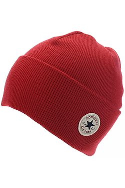 čiapka Converse Tall Cuff Watchcap Knit - 609706 Enamel Red 0159a53a838