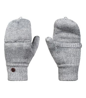 8979734f373 rukavice Roxy Frozen Jaya Mittens - SJEH Warm Heather Gray ...