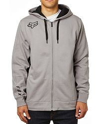 63d90d6d1dee mikina Fox Redplate 360 Zip - Steel Gray