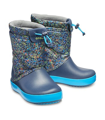 topánky Crocs Crocband LodgePoint Graphic - Slate Gray Navy -  snowboard-online.sk cb58a734644