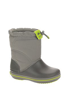detské topánky Crocs Crocband Lodgepoint Boot - Smoke Graphite ... c254278ba33