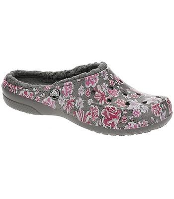 20fa77d52 shoes Crocs Freesail Graphic Fuzz Lined Clog - Multi Floral Slate Gray -  women´s - blackcomb-shop.eu
