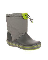 detské topánky Crocs Crocband Lodgepoint Boot - Smoke Graphite 4613c8db8b