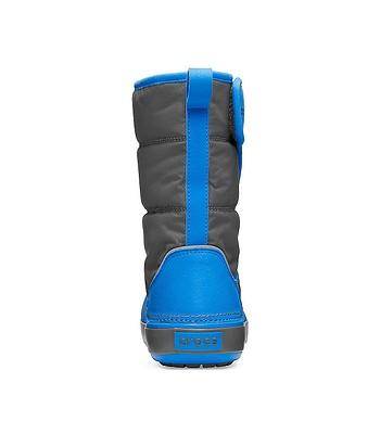 detské topánky Crocs Lodge Point Snow Boot - Slate Gray Ocean - snowboard -online.sk 7c7cfcf402