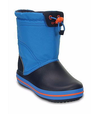 boty Crocs Crocband Lodgepoint Boot - Ocean Navy  37ced74a05