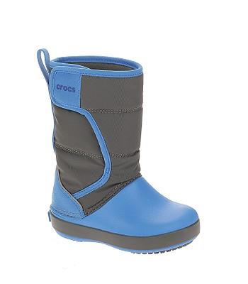 boty Crocs Lodge Point Snow Boot - Slate Gray Ocean - snowboard ... 13d6f3e08f4