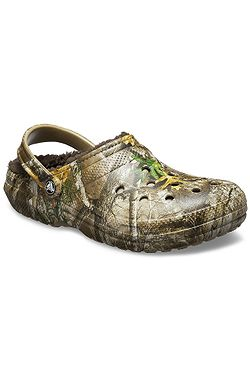 boty Crocs Classic Lined Realtree Edge Clog - Chocolate Chocolate ... b7bb7d72ab