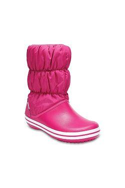 boty Crocs Winter Puff Boot - Candy Pink 1b4b254342