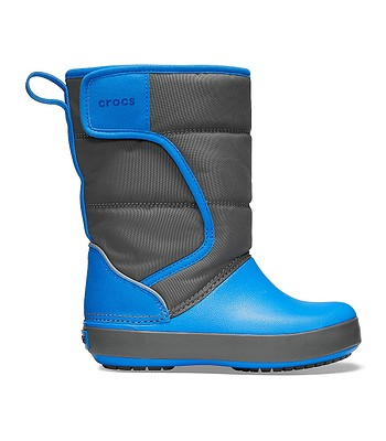 detské topánky Crocs Lodge Point Snow Boot - Slate Gray Ocean. Na sklade ‐  11. 3. u teba doma -30% f1cb8e4d19