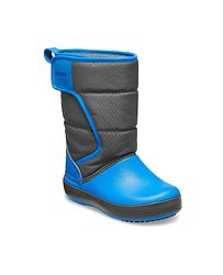 1173c90baae detské topánky Crocs Lodge Point Snow Boot - Slate Gray Ocean