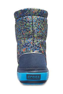... topánky Crocs Crocband LodgePoint Graphic - Slate Gray Navy 418c51a43e0