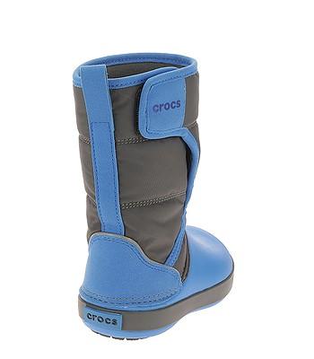 detské topánky Crocs Lodge Point Snow Boot - Slate Gray Ocean. Na sklade ‐  11. 3. u teba doma -41% 48dc44ff37