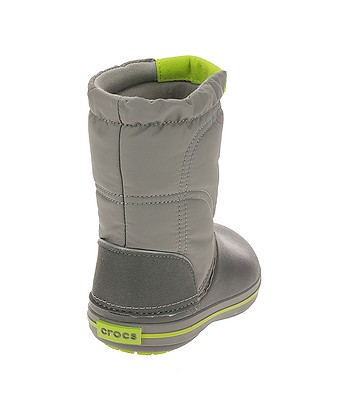 detské topánky Crocs Crocband Lodgepoint Boot - Smoke Graphite ... 85078aab27f