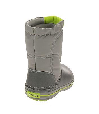 detské topánky Crocs Crocband Lodgepoint Boot - Smoke Graphite ... 85078aab27f