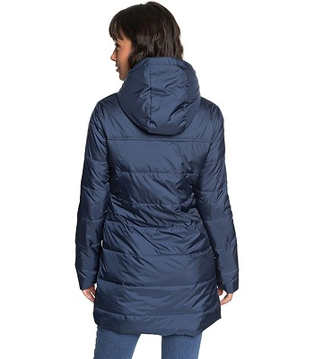 0f028a5485cc0 płaszcz Roxy Evening Shadow - BTK0/Dress Blues - snowboard-online.pl