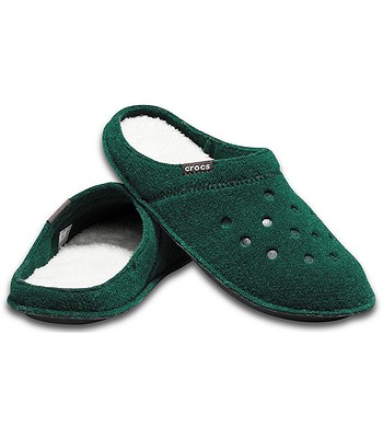 ponadczasowy design na wyprzedaży urok kosztów shoes Crocs Classic Slipper - Evergreen/Stucco - blackcomb ...