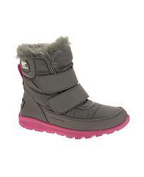detské topánky Sorel Whitney Strap - Quarry Ultra Pink af941aed5e1