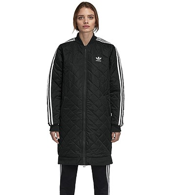 ae0b5ce2 jacket adidas Originals Long Bomber - Black - women´s - blackcomb-shop.eu