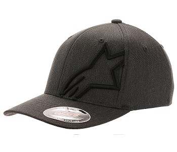 kšiltovka Alpinestars Corp Shift 2 Flexfit - Dark Gray Heather/Black