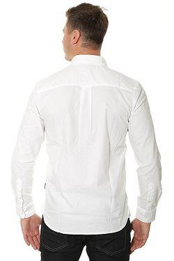 ... košile Volcom Oxford Stretch LS - White c1c207ea4b