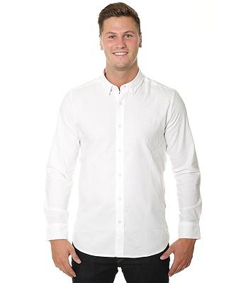 košile Volcom Oxford Stretch LS - White  d08d96f35b