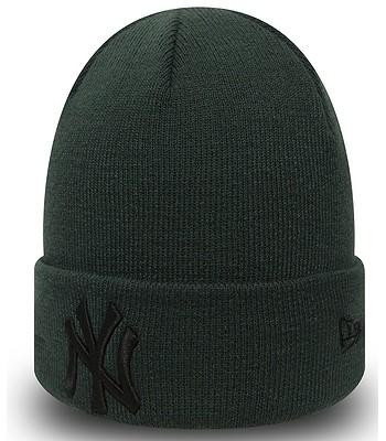 čiapka New Era League Essential Cuff MLB New York Yankees - Dark Green Black 57bf64d9013