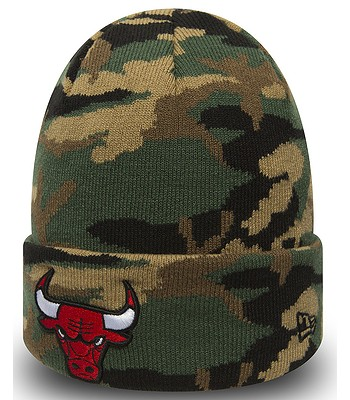 6e7df7ec9 čiapka New Era Essential Camo Knit NBA Chicago Bulls - Woodland Camo ...