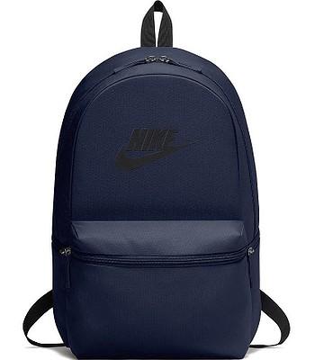 ad138d4072 backpack Nike Heritage - 451 Obsidian Black Black - snowboard-online.eu