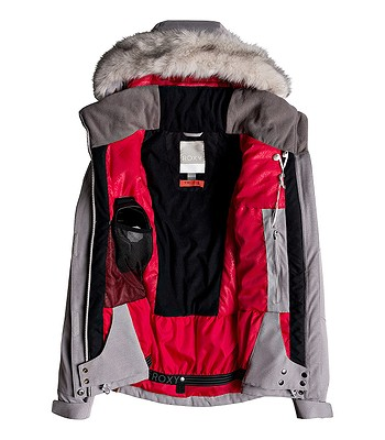 f089f243f65 bunda Roxy Atmosphere - SJEH Warm Heather Gray - snowboard-online.sk