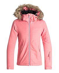 bunda Roxy Jet Ski Embossed - MHG2 Shell Pink Indie Stripes Emboss 92f946a6d9c