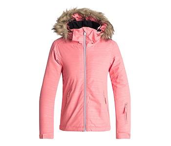 c88e337ad131 detská bunda Roxy Jet Ski Embossed - MHG2 Shell Pink Indie Stripes Emboss