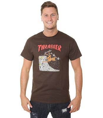 afe48118ae80 T-Shirt Thrasher Neckface Invert - Brown - men´s - blackcomb-shop.eu