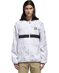 bunda adidas Originals Marble Blackbird - White Dgh Solid Gray Ch Solid  Gray  288d7a36ea5