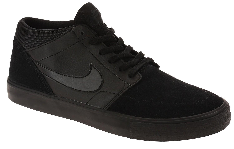 shoes Nike SB Portmore II Solar Mid - Black/Black/Black/Anthracite ...