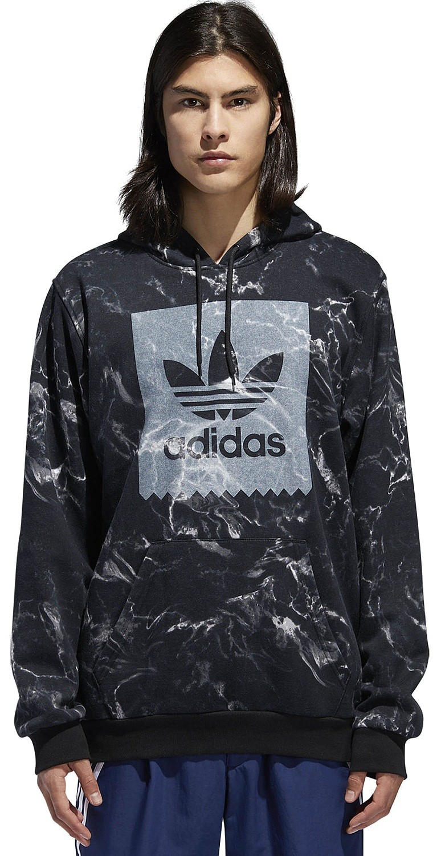 sweatshirt adidas Originals Marble Aop BlackWhite men´s