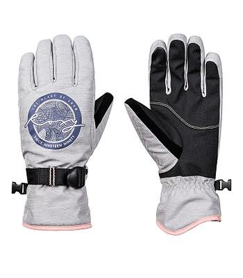 26d09499b68 rukavice Roxy Freshfield - SJEH Warm Heather Gray
