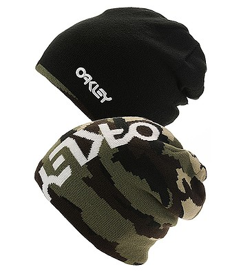 8895f3e289d čepice Oakley B1B Logo Reversible - Blackout - snowboard-online.cz
