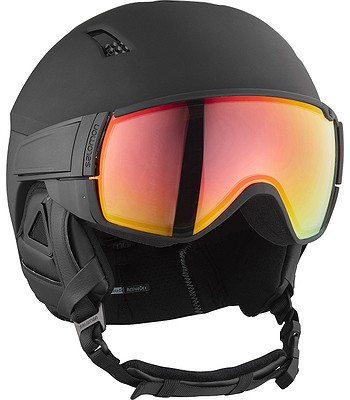 helma Salomon Driver+ Photo - Black Silver All Weather - snowboard ... 08919e0b3eb