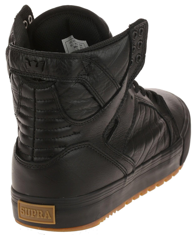 shoes Supra Skytop CW - Black/Black/Gum